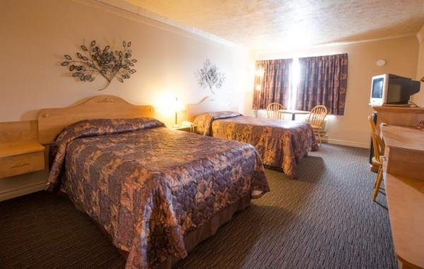 RÉGULIÈRE 2 lits avec tapis 2e